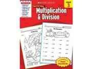Scholastic Teaching Resources Sc-9780545200875 Scholastic Success Multiplication- & Division Gr 3