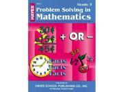 Hayes School Publishing Br153 Problem Solving In Mathematics Grade 3- 36 Page 8.5   X 11   Workbook