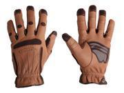 Bionic Glove PROMM Men's Tough Pro Heavy Duty Brown Pair- Medium