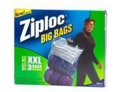 Ziploc Heavy Duty Big Bag Xxlarge - 3 Per Box, 8 Boxes