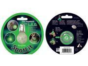Nite SpotLit Green L.E.D. Carabiner Light
