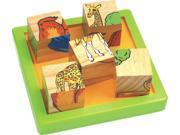 CHH 961041 Wooden 9 Pieces Block Puzzle