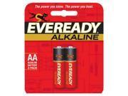 Eveready Batteries A91BP-2 Alkaline Batteries AA - Pack Of 12