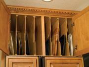 Omega National NPTS2424 M Wood Tray Divider