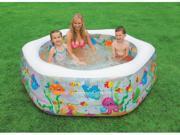 Intex Recreation 76in. Ocean Reef Inflatable Pool  56493EP