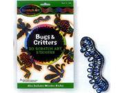 Melissa and Doug 5825 Scratch Magic Bugs & Critters Stickers - 3343 9SIA00Y4505066