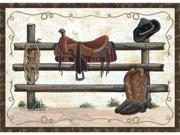 Custom Printed Rugs WESTERN Western Rug