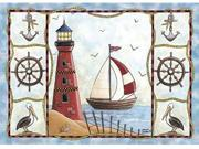 Custom Printed Rugs LIGHTHOUSE Lighthouse Rug