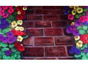 Custom Printed Rugs DM  04 Brick Path Door Mat