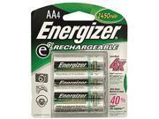 Energizer Rechargeable AA Batteries  2500mah  4pk