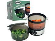 Chef BuddyT Food Steamer includes Timer and two containers