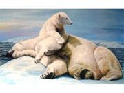 Custom Printed Rugs DM  34 Polar Bears Door Mat