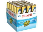 MAXELL 723849 - LR0320MP ALAKALINE BATTERIES - AAA&#59; 20 PK&#59; BRICK