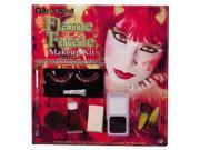 Costumes For All Occasions FW9622D Makeup Kit Flme Fatale Wild W 9SIA00Y0BR8326