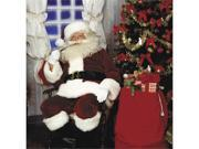 Costumes For All Occasions RU2393 Santa Suit Crimson Imperial