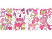 Roommate RMK1663SCS Horse Crazy Wall Decals 9SIA00Y0BS3361
