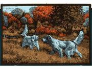 Custom Printed Rugs HUNTERSHINTS Hunters Hints - Setters Wildlife Rug