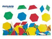 Miniland Educational 95045 Geometrical blocks (250 pieces) / Jar