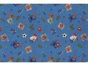 Custom Printed Rugs Play Ball 4 ft. x 6 ft. What ft.s Your Ball Game Rug