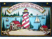 Custom Printed Rugs Dm-27 Light House Door Mat