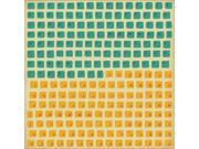 Kaisercraft SS130 Technologic Cardstock Stickers 12 in. x 12 in. - Keyboard - Pack of 5