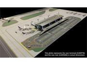 Gemini Jets 1-400 GJARPTB Terminal Set, Airport Airside - Land Side 1-400