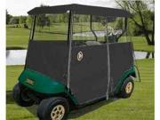 Greenline GLEB02 Greenline Drivable Universal 2 Passenger Golf Car Enclosure- Black
