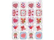 Teacher Created Resources TCR1258 Stickers Valentines Day