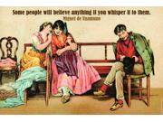 Buyenlarge 20729-9P2030 Some people believe 20x30 poster