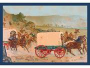 Buyenlarge 15898-0P2030 Mitchell Wagon Train 20x30 poster