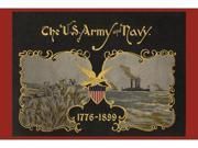 Buyenlarge 21486-4P2030 The U.S. Army and Navy 1776-1899 20x30 poster