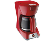 Hamilton Beach - PS 12-Cup Coffeemaker Red Type: Coffee Maker Capacity: 12 cup Features: ooking for a no fills coffee maker? This Red Proctor Silex 43603 12-Cup coffee maker will look nice on most kitchen counter-tops