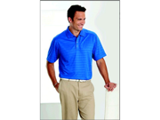 Callaway CGM145XLPool Blue Textured Performance Polo - X-Large