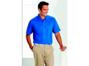 Callaway CGM145LRoyal Blue Textured Performance Polo - Large