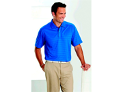 Callaway CGM145SRoyal Blue Textured Performance Polo - Small