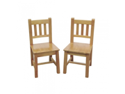 Guidecraft G86403 Mission Extra Chairs