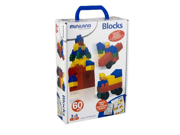 Miniland Educational Corp 32309 Blocks 60 pieces - case
