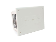 CMPLE 525-N Wall plate- Recessed Media Box White