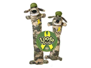MultiPet MU48621 Loofa Dog  Support Our Troops  - 18Inch
