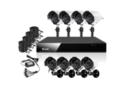 ZMODO KDF8-DASCZ8ZN CDATA - 8 Channel CCTV Surveillance H.264 Real time DVR Outdoor 8 Security Camera System - 3G Mobile No HD