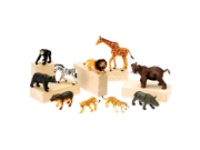 US Toy MTC-322 Jungle Animals 10 Pc Set