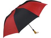 Haas-Jordan by Westcott 4355 58 in. Folding Golf Umbrella Red-Black