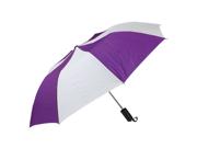 Haas-Jordan by Westcott 2967 42 in. Personal Pop-up Purple-White