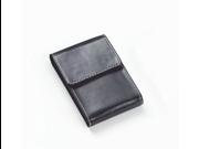 Clava 00-2923 Flip Top Business Card Holder - Bridle Black