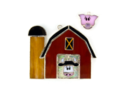 Switchables SWITCHSW134 Stained Glass Light Catcher - Animal Barn