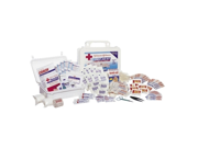 Johnson & Johnson Johnson & Johnson First Aid Kit, 98 Pieces For Up To 10, Plastic Case