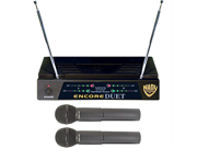 Nady Encore-Duet Wireless Microphone System