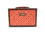 Nicole BX2093EMC ORANGE Nicole Lee Adela Embossed 12 Inch Briefcase - Orange