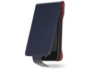 Cygnett Blue Cow Skin Leather Case for iPhone 5 CYO864CPLAV