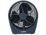 Optimus 6 in. Fan Personal Stylish 2Speed Energy - Grey - F0622